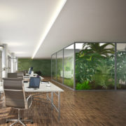 Design biophilique : un bureau 100% nature, ou presque